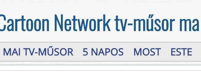 Bővülő kínálattal rendelkezik a Cartoon Network